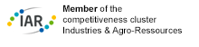 Member of the competitiveness cluster Industries and Agro-Ressources